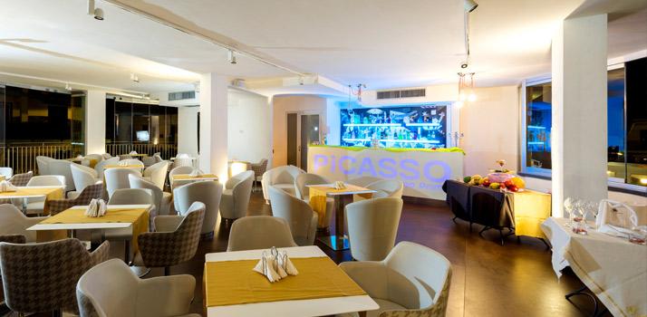 Light lunch al Lounge Bar Picasso in provincia di Napoli
