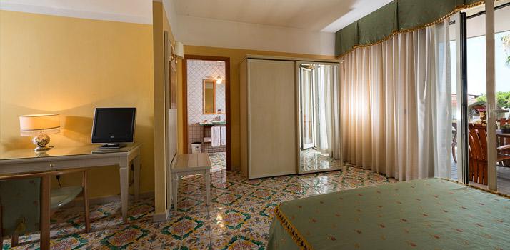 La Suite dell'hotel vicino Napoli